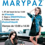 EMPIEZA #FashionFridays30 con Sorteo de @MARYPAZShoes 1 Haz RT 2 Sigue a tod@s 3 Sigue a quien te siga by @TrendyBe http://t.co/uWYTxq1Hj5