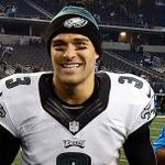 Mark Sanchez looks pretty happy after the #Eagles Thanksgiving Day win over Cowboys: http://t.co/17sXTN0CRO http://t.co/5TFJXGLR7G