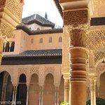 #Fotografía / #Photography desde un lateral del #PatiodelosLeones. #Alhambra de #Granada @granadatour @masquegrana http://t.co/bxINq1Y6IX