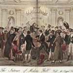 Illustration of high-class gambling Hell. Typical of venues visited in Pierce Egans Life in #London (1821). http://t.co/jtEPu7jDtb