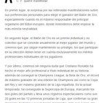 ¡COMUNICADO OFICIAL del Real Madrid sobre las declaraciones de Platini acerca del Balón de Oro!  #ElChiringuitoDeNeox http://t.co/BAs22JbQy3