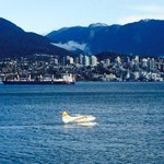 Morning in Vancouver. Hard to beat. Supposed to be nice all weekend for #GreyCup http://t.co/EByE0RjhEq