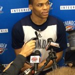 Word from Coach Brooks @ shootaround today: Russell Westbrook will return to Thunder lineup tonight vs @nyknicks. http://t.co/KZZx0w73kf