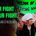 Corporate greed is across all working sectors. Your fight is our fight!! #WalmartStrikers #BlackFriday http://t.co/K63lc7xmin