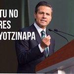 """Oye EPN: ¿Crees que ya se nos olvido el """"Iguala no es el Estado Mexicano""""? #TodosSomosAyotzinapa #YaMeCansé http://t.co/Y2jzC12uAj"""