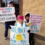 "Wanna lose ""welfare queen"" title? Pay a living wage! RT @ForRespect: Louisville Kentucky supports #WalmartStrikers! http://t.co/2XXupKeQ81"