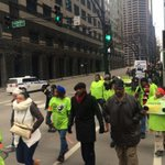 @jamalhbryant in Chicago leading March with Walmart workers for equal pay #Handsupdontspend http://t.co/SdV18ZKpqI