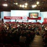 Der Saal füllt sich für die JHV der Rekorde beim @FCBayern. Um 19 Uhr gehts los. @SPORT1 bei der #FCBJHV http://t.co/1YcCyAuQO3