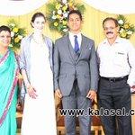 RT @Cine_Alasal: @Dhananjayang sir at Journalist Anupama Son Wedding Reception