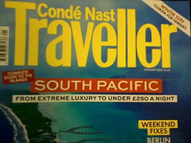 Good old Conde Nast. Looking after travellers with every conceivable budget http://t.co/tVMSjLqsEK