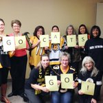 Hey @CalgFoundation, were #BlackandGold today supporting @Ticats! #GreyCup #HamOnt #OskeeWeeWee http://t.co/ggk1Oo8Quf