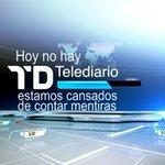 Ya era hora de que los profesionales de TVE se plantaran! #NoHagaisElTelediario ÁNIMO #BlackFridayTVE http://t.co/6a7mrzL5Lo