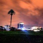 Alsaraya Square middle of #Gaza city at the night .. #GazaTeachesLife http://t.co/RJs8PxnLzq