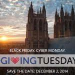 Were you up early on Black Friday? Better still, plan to rise early for #GivingTuesday! http://t.co/soDhsrezYC