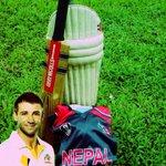 Cricket Nepal tribute to #63notout little legend #putoutyourbats http://t.co/Dt3qr9cxb8