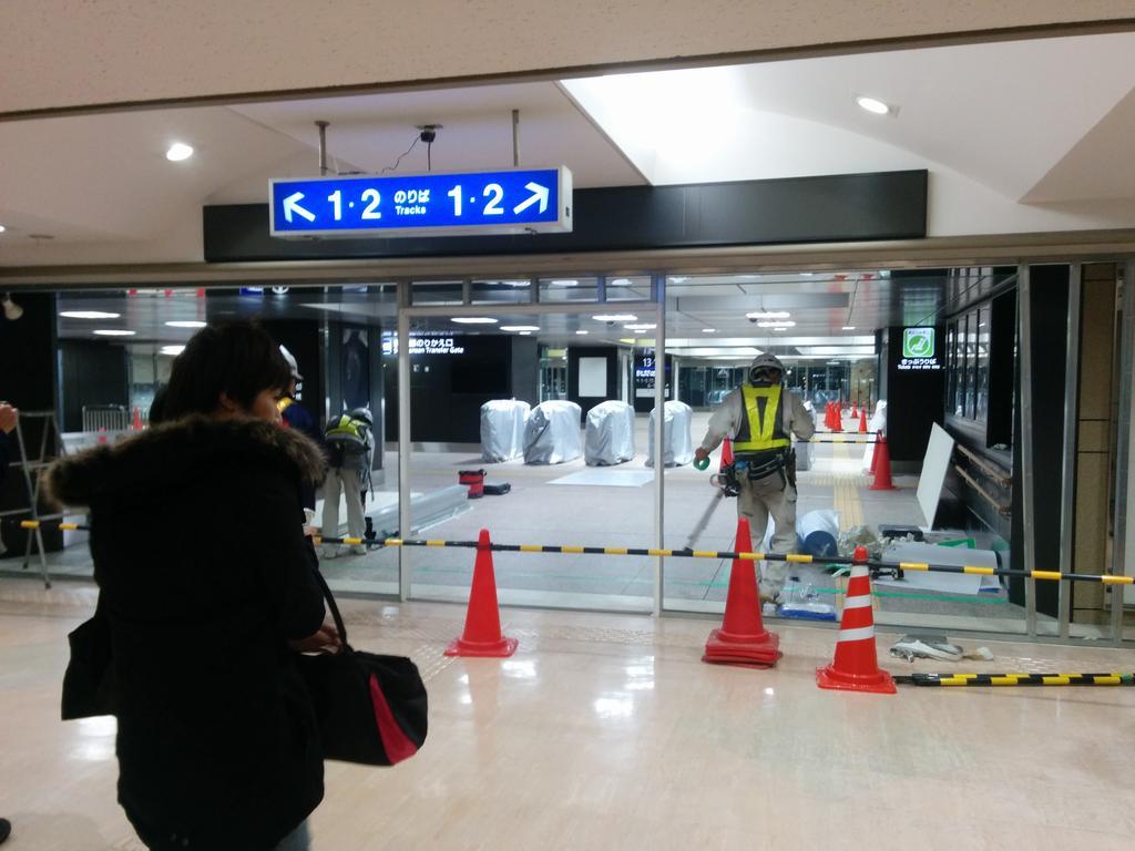ついにきたか…… RT @lindow_k とうとう金沢駅に自動改札機がwwwww http://t.co/Bp0j4uWyLP