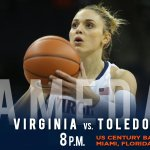 #UVaWBB takes on Toledo at 8 pm. Reminder, there wont be a radio broadcast of game but you can listen live online http://t.co/iVdOHhA9zO
