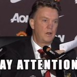 Louis van Gaal makes fun of Manchester United's Twitter account during presser VIDEO: http://t.co/PWCLaWGN6y http://t.co/ig1uBYAbsg