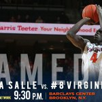 Ready to get things rolling in Brooklyn! #LASvsUVA http://t.co/vsYL78riX7
