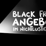 Pssst... BLACK FRIDAY Angebote im NICHTLUSTIG Shop... Pssst... Weil bald Weihnachten... Pssst: http://t.co/i7b7uGwHK3 http://t.co/AELBZE1RU8