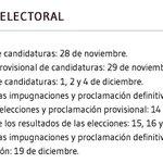 Contexto #Osasuna | Calendario electoral ~ 3ª convocatoria. Fuente: osasuna.es http://t.co/txoIB9On3D
