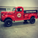 .@RedTruckBeer knows how to cruise in style. Stacked day of events, lowdown here: http://t.co/C6VyfFSYIM #GreyCup http://t.co/Y26zyBDybB