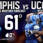 Updated weather forecast for tomorrow. Take advantage of the #BlackFriday deals at http://t.co/sYqRnDQ2dm #GoTigersGo http://t.co/jLvbTTokcl
