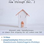 Small bizs like #Detroits @JosephWesleyTea are sharing discount codes on @instagram #ShopSmall #Local4Shopping http://t.co/WNG38LY9rV
