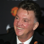 [Picture] Louis van Gaal during today's press conference at Carrington. #MUFC http://t.co/Nu112LWf1U