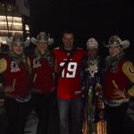 Hanging out with royalty at @GreyCupFestival in Vancouver on @BTCalgary http://t.co/hL19Qjj82I