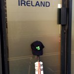 Remembering Phil Hughes here at the Cricket Ireland HQ in Dublin #putyourbatsout http://t.co/WAYTr44xF5