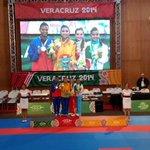 Felicitaciones @Stella_Urango Campeona de los Juegos Centroamericanos y del Caribe. #MilFelicidades http://t.co/g5AtsTTljj