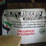 Terminada la pancarta del bloque juv. #29N Badajoz a las 17:30 Concejalía de Juv. 18:00 en Av. de Huelva @Marchas22M http://t.co/YSHCRzKKza