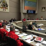 Needless to say, the Calgary City Council support our Stampeders. Go Stamps Go!!! #yyc #yyccc http://t.co/HBf5iCTNY4