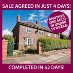 Yet another property has sold in under our 15 week target. #doncasterisgreat #propertysales #iloveDN http://t.co/dfIR8LYwkv