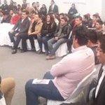 Diálogo con Jóvenes por parte de la Secretaria @Rosario_Robles_ con la presencia del Gobernador @Paco_Olvera http://t.co/GawaBu5u6d