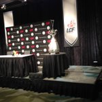 The #GreyCup is here! Getting set up for a news conference, state of the league speech coming up #cbc http://t.co/ak2baDGjml