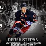RT this if you think Derek Stepan and the @NYRangers will leave Philadelphia with a W #NHLonNBC http://t.co/ed3KuberZB