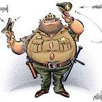 Cartón de Calderón: peligro de mando único policíal propuesto por @epn: centraliza/amplifica corrupción e ineptitud. http://t.co/56RiLbFrCB