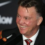 Louis van Gaal trolls Manchester Uniteds own Twitter account http://t.co/X9NwyWvr4W http://t.co/MTqOa85Mv2