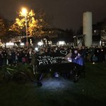 #Mahnwache für #Tugce vor Klinikum Offenbach hat begonnen http://t.co/lJnE4hBBCM http://t.co/pWxyjMqBuu