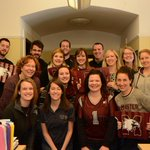 We've got spirit, yes we do, we've got spirit, how 'bout you? Post your photos tagged with #GoMacGo! #Vanier50 http://t.co/0y6DhPOkuw