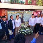 Conmemorando el CIII aniversario de la promulgación del Plan de #Ayala Srio @Matias_QM y Georgina Trujillo. #Morelos http://t.co/r5LD2oe4kd