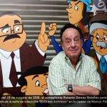 """#Actualización. Falleció Roberto Gómez Bolaños """"#Chespirito"""" a los 85 años http://t.co/e4pBpDMOkA http://t.co/MULIkbemW4"""