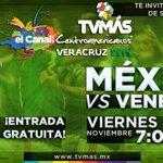 Final de futbol varonil @JVeracruz2014 #México vs. #Venezuela en vivo 7pm por la señas de @TVMASVeracruz http://t.co/NijqhOK3ja