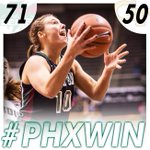 BIG #PHXWIN today over Georgia Tech! Green Bay will now face Arizona State in the semifinals of @GCShowcase! #HLWBB http://t.co/aqHcBAmMUo