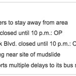 Heres a 5 point snapshot of what you need to know about Hwy 403 mudslide & your commute http://t.co/KcxNvmRKrK http://t.co/pPSbIp9X0c