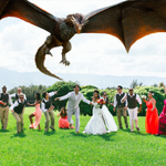 @KITV4 Grew up on Oahu. Got married on North Shore. Heres our Game of Thrones inspired wedding picture #GreenWedding http://t.co/XzoKVIsj1G