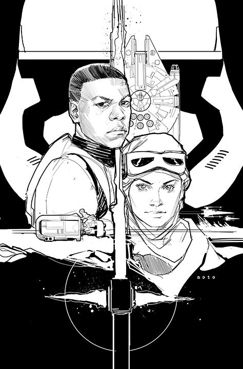 Great Phil Noto piece inspired by #TheForceAwakens trailer! http://t.co/cyKI2NeEFa http://t.co/UXea6sRUu9