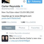 Rt for a DM to Carter! Spamming this link! (Free but a follow would be nice) @carterreynolds http://t.co/OAP8gME5BP